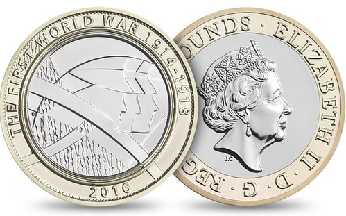 UK Army 2016 coin