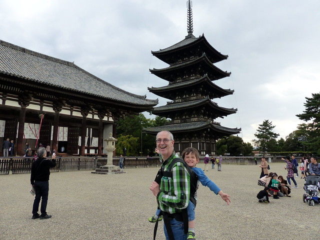 Kofukuji Temple, Eastern Golden Hall and 5 story pagoda