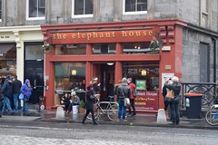 The Elephant House café front