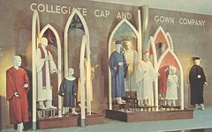 The Collegiate Cap and Gown Company Exhibit at the Hall of Education - New York World's Fair 1964-65
