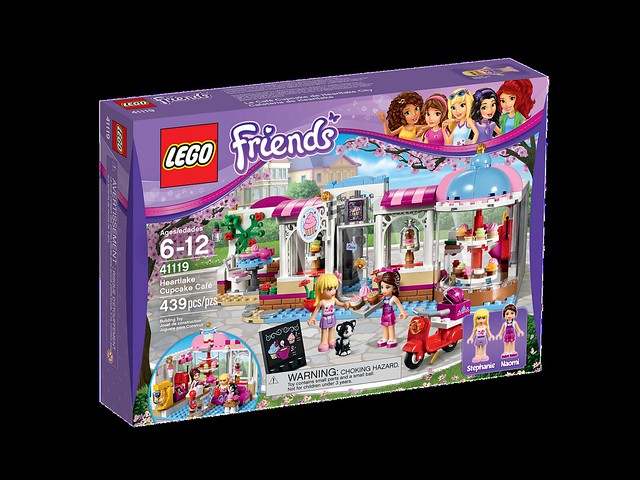 LEGO Friends 41119 - Heartlake Cupcake Cafe