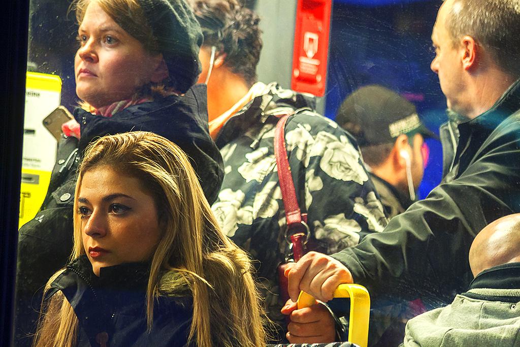 Tram on 12-3-15--Berlin