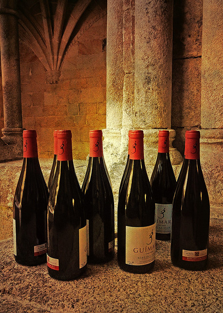 Wine for a Wedding at the Restored Monastery at the Sacred Shore of Northern Spain