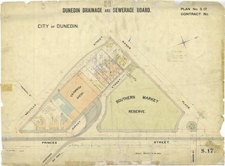 Drainage plan of Market Reserve Area 1903-4