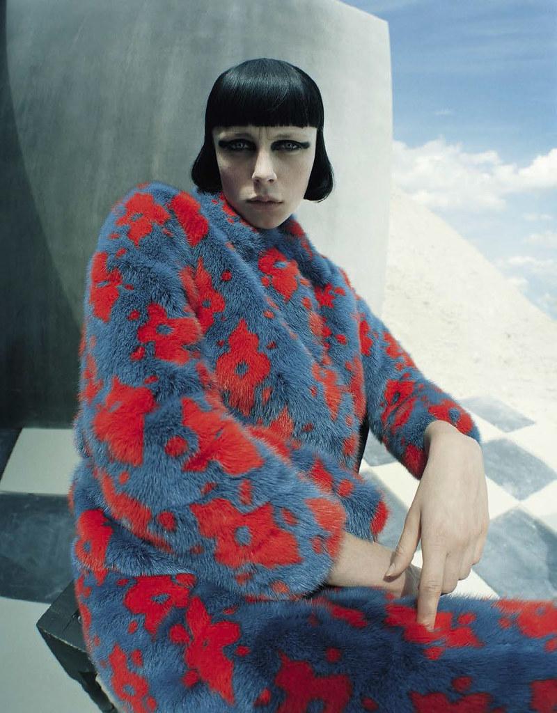 Эди Кэмпбелл — Фотосессия для «Vogue» IT 2015 – 11