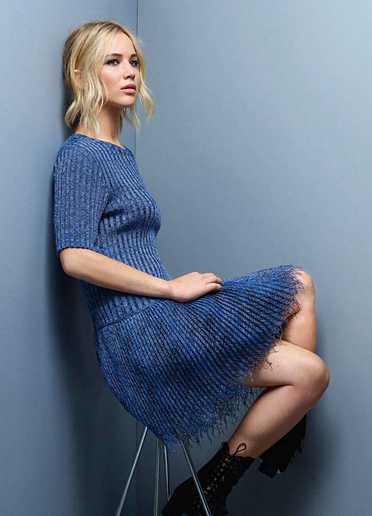 Дженнифер Лоуренс — Фотосессия для «Dior» JM 2015 – 7