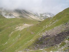 The view back to the Col du Bonhomme Image