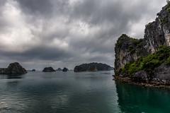 Halong Bay cloudy