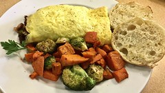 James's Special omelette at Denica's in…