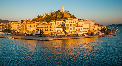 Poros at Sunset