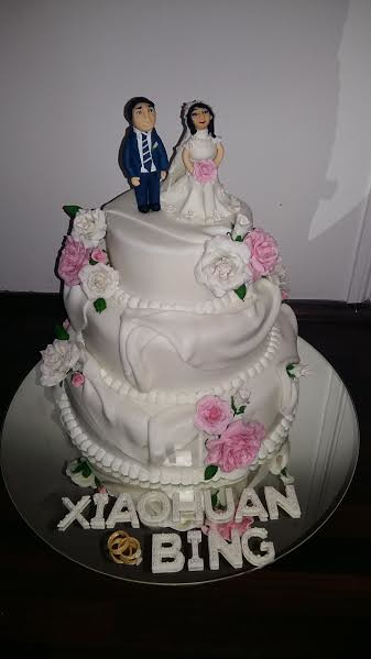 Cake by Anjalee Alwis of A's Cakes and Food Creations