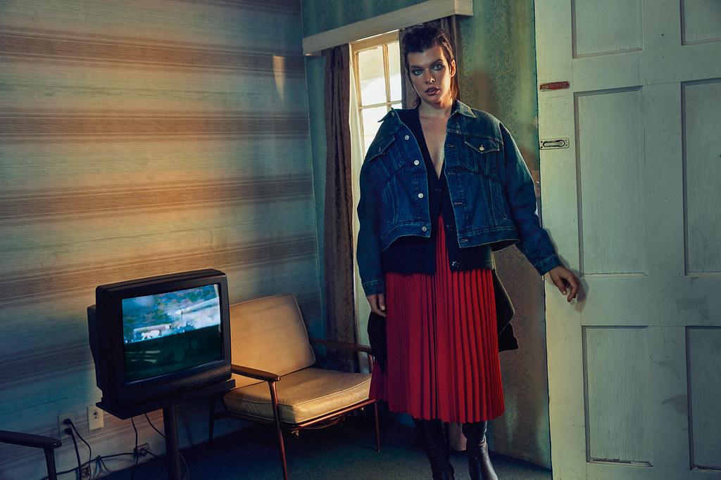 Милла Йовович — Фотосессия для «Vogue» UA 2016 – 5