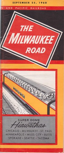 Milwaukee Road 1960 Cover