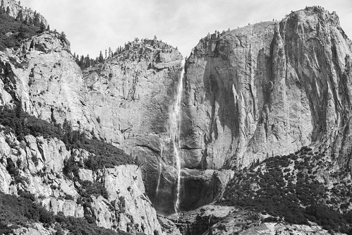 "Image titled ""Waterfall, Yosemite."""