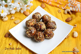 dry fruits- ladoo