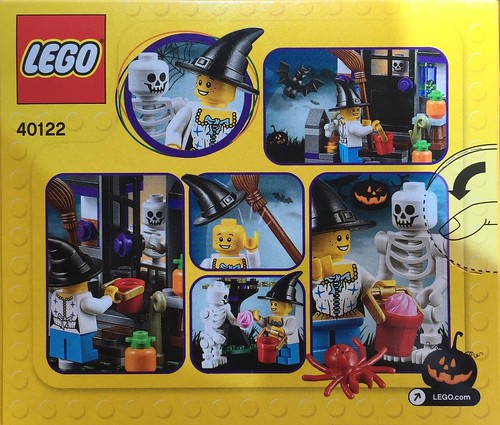 LEGO Seasonal 40122 Back
