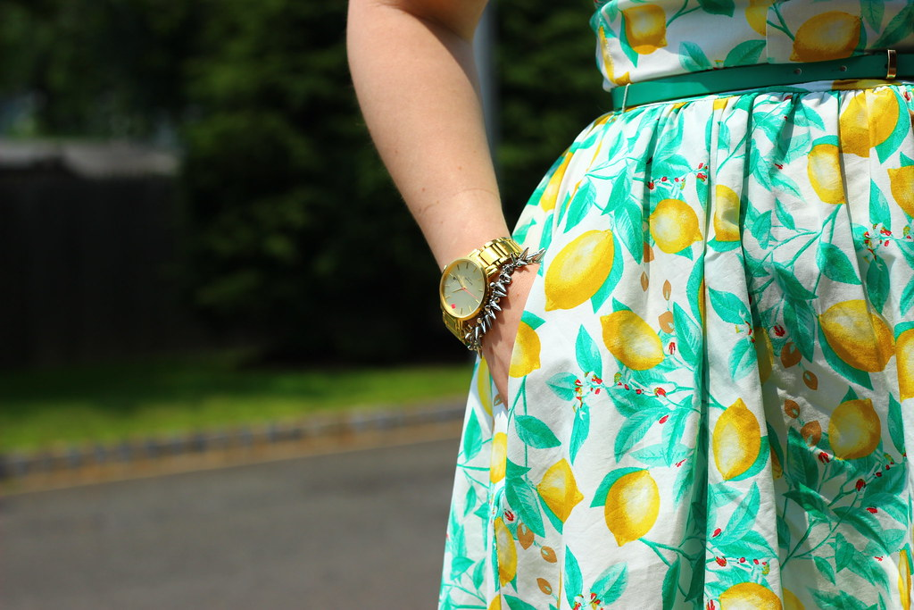 Kohls Lemon Dress (3)