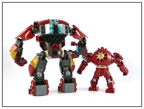 LEGO 76031 The Hulk Buster Smash 21