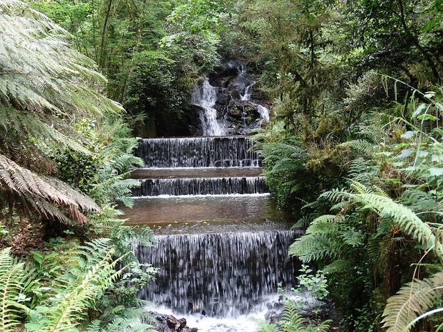 Cascada en el Pazo de Santa Cruz de Rivadulla