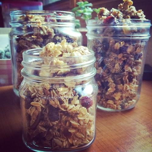 Honey Oats Granola