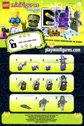LEGO 71010 Collectible Minifigures Series 14 Monsters ins2