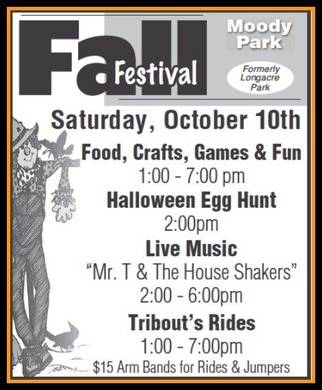 Fall Festival Moody Park 10-10-15
