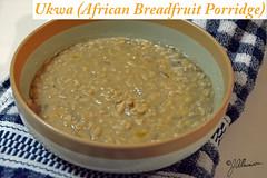 Ukwa- African Breadfruit Porridge