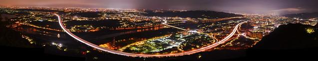 三峽鳶山 全景夕照