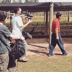 #Rodaje de #documental #LaosianosFilm dir @nacholuchi prod @hucrex sonido #MartínVaisman asist dir @wenchibonelli y estoy haciendo la fotografía/camara