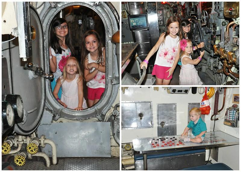 Carnegie Science Center Submarine