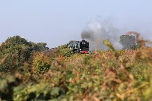Kidderminster-Bridgnorth steam train