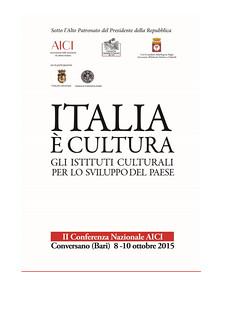 Conversano-Italia  Cultura_programma