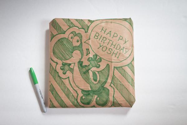 Gift Wrap Decoration 4: Yoshi