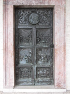Door, Abbey Church, Montecassino