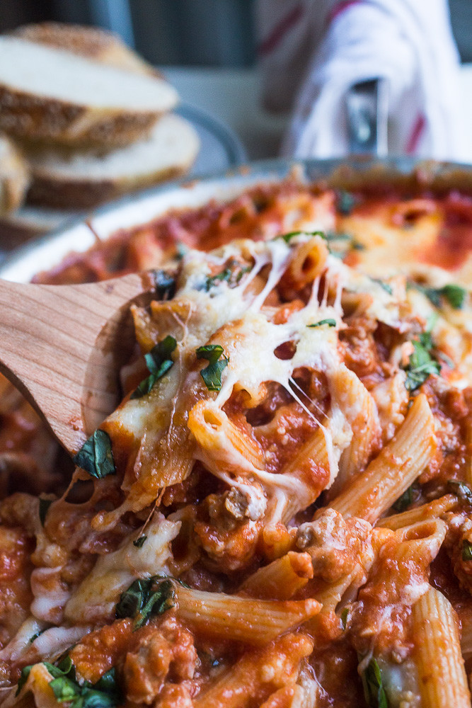 One-Pot Cheesy Baked Penne