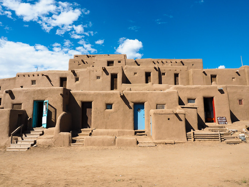 Taos Pueblo in New Mexico