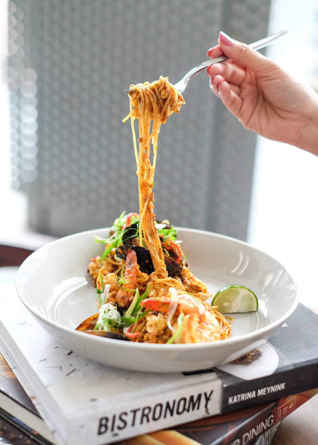 Lighthouse Bistro & Bar: Malaysian Angel Hair