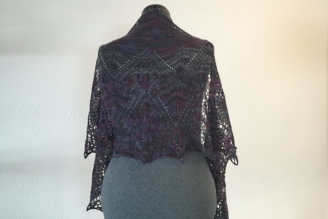 Vanessa Ives Victorian Lace Shawl