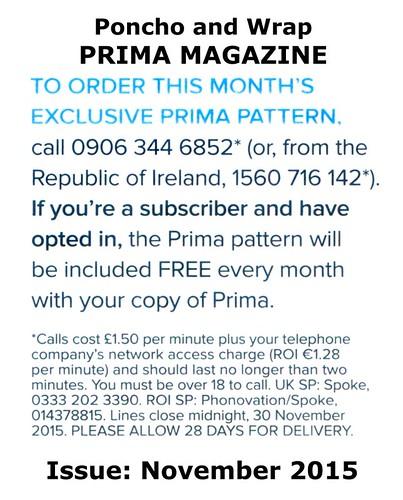 Prima Magazine - Pattern, November 2015 (04)