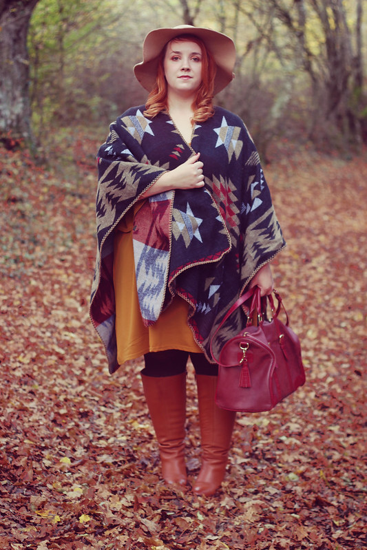 French Curves cape ou poncho