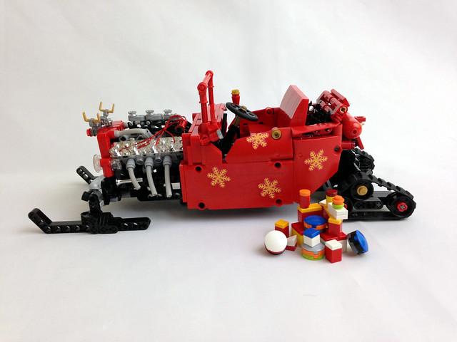 Moc Hot Rod Fire Bucket Lego Technic Mindstorms