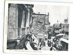 117409571088  Israel Jerusalem Jewish David Street Jaffa Gate