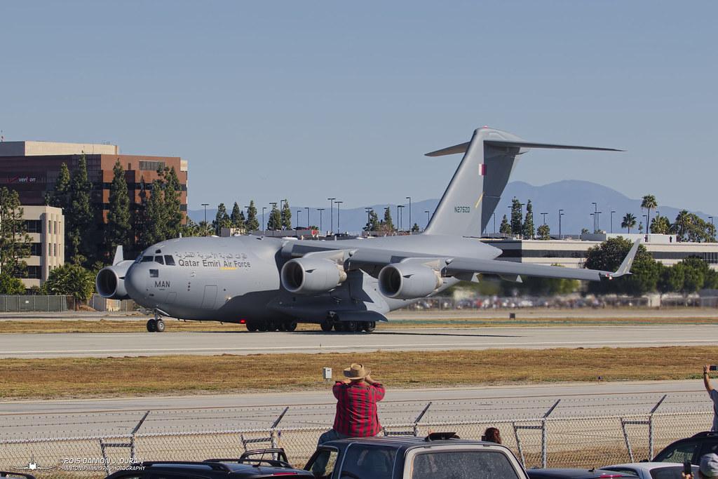 C-17A N275ZD (A7-MAN) Qatar Emiri Air Force