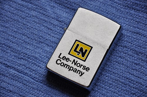 Lee-Norse Zippo Cigarette Lighter