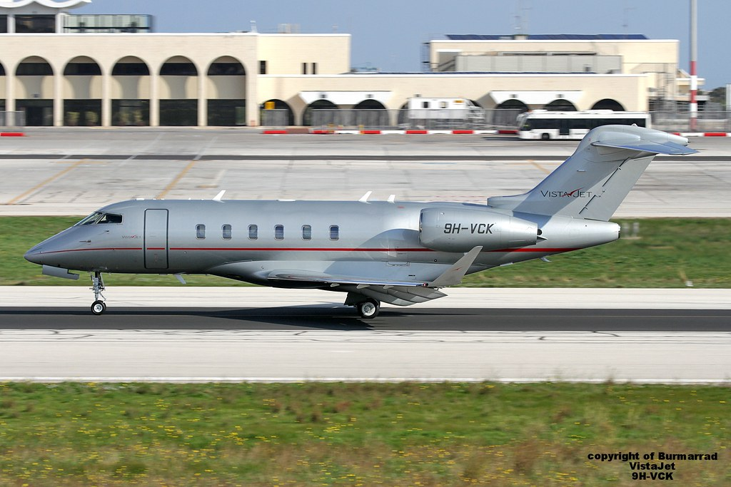 9H-VCK - CL35 - VistaJet
