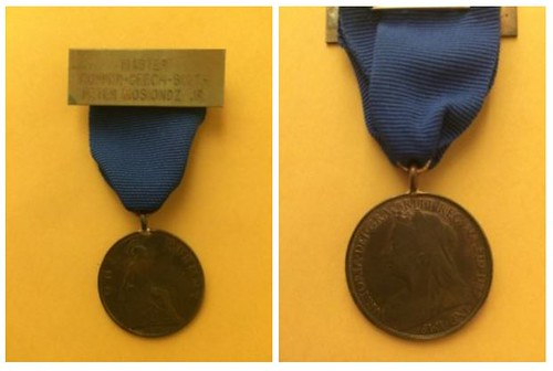 Sons of the Copper Beeches medals