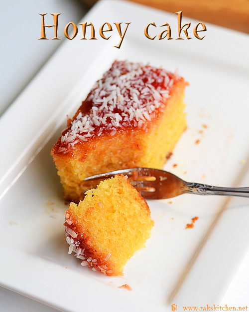 Indian Sponge Cake Recipe Video