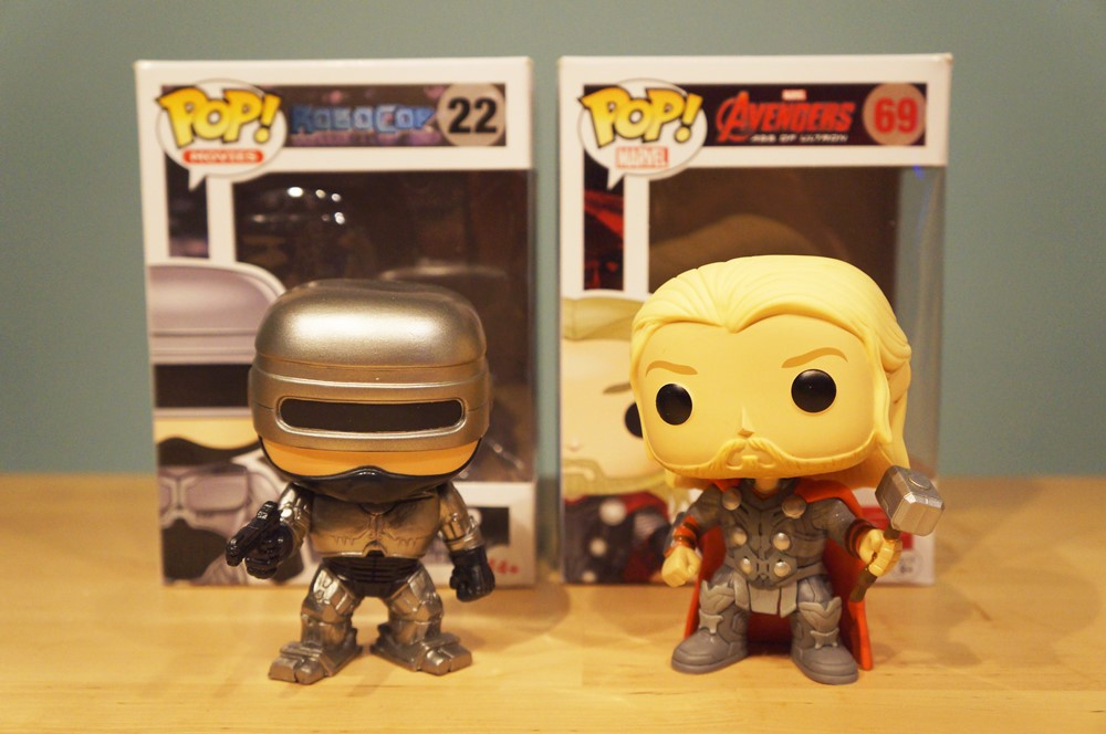 Pop! RoboCop & Thor