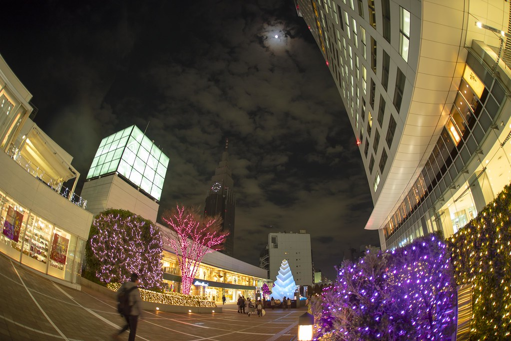 2015.12.22 新宿テラスシティ イルミネーション