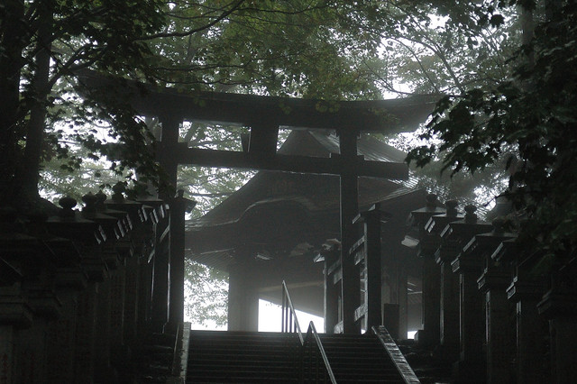 Entrance of the different world ー 三峰神社